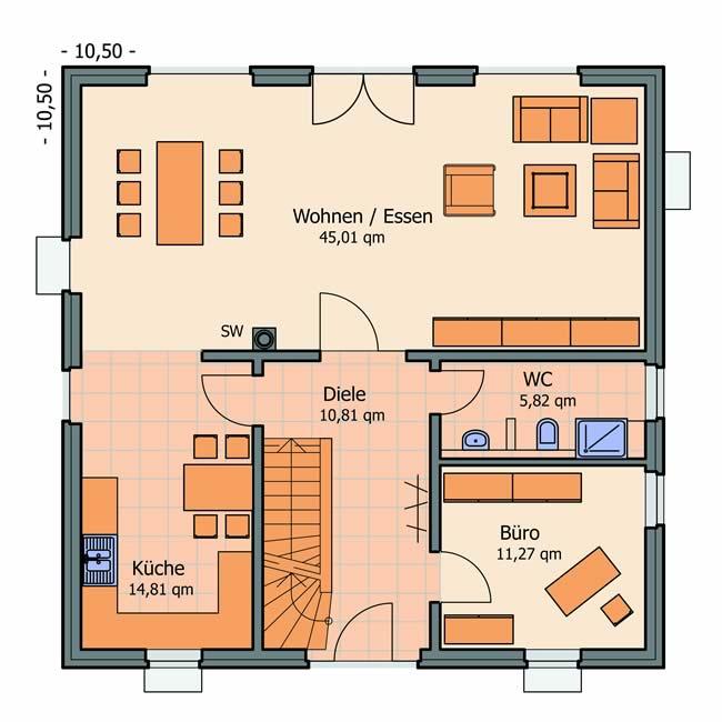 typ toskana deltabau. Black Bedroom Furniture Sets. Home Design Ideas